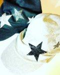 星を散りばめたスターキャップ