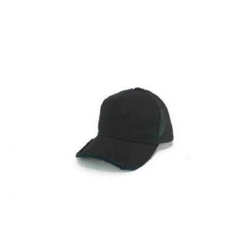 他の写真1: 折り鶴キャップ ブラック ダメージキャップ フリーサイズ