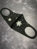 Snow  Crystal 雪の結晶 デコマスク