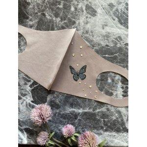 画像1: Butterflyデコマスク スワロフスキー®︎・クリスタル使用