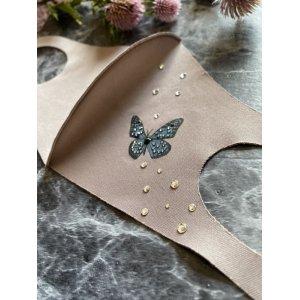 画像3: Butterflyデコマスク スワロフスキー®︎・クリスタル使用