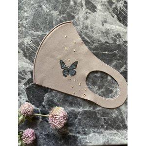 画像2: Butterflyデコマスク スワロフスキー®︎・クリスタル使用