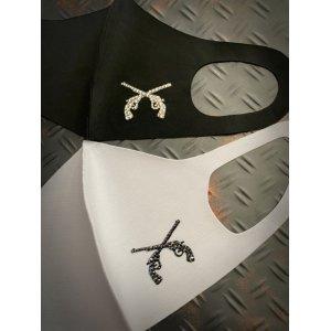 画像1:  Pistol    デコマスク ウレタンマスク